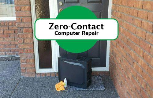 zero contact dropoff pickup